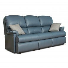 Sherborne Nevada Fixed 3 Seater Sofa (leather)
