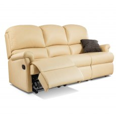 Sherborne Nevada Reclining 3 Seater Sofa (leather)