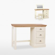 Coelo Single Pedestal Dressing Table