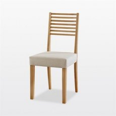 Windsor Ladder Low Back Dining Chair (in leather)