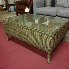 BRAMLEY Rattan Coffee Table