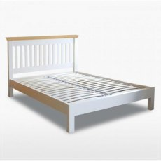 Coelo Single 3'0 Slatted Bedstead with Low Foot End