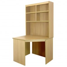 Compton Corner Desk with OSJ Hutch