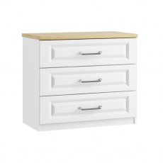 Sorrento 3 Drawer Wide Chest