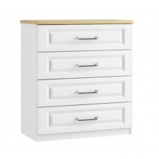 Sorrento 4 Drawer Wide Chest