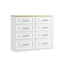 Sorrento 8 Drawer Twin Chest
