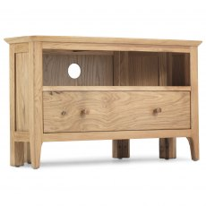 Willand Corner TV Unit with Drawer