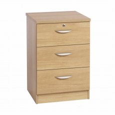 Compton 3 Drawer CD/DVD Storage Unit