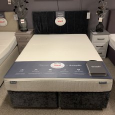 5'0 Dunlopillo Millennium 2 Drawer Divan Set & Headboard