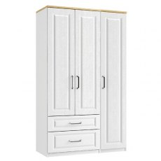 Sorrento 3 Door 2 Drawer Wardrobe