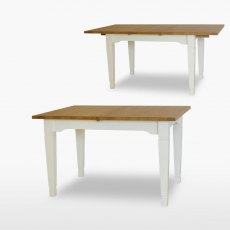 Coelo Medium Extending Dining Table with 1 Extension Leaf