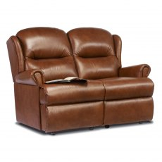 Sherborne Malvern Fixed 2 Seater Sofa (leather)