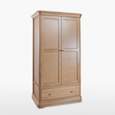 Lamont 2 Door Wardrobe with 1 Drawer