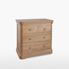 Lamont Chest of 4 Drawers (2+2)