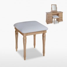 Lamont Bedroom Stool (in fabric)