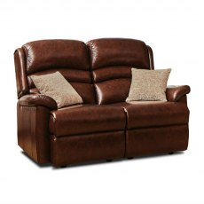 Sherborne Olivia Fixed 2 Seater Sofa (leather)