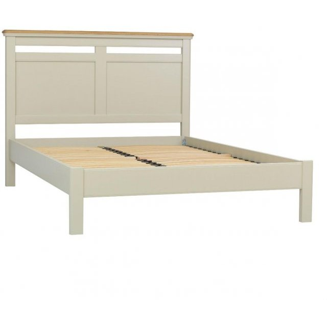 TCH Furniture Cromwell Double 4'6 Panel Bedstead with Low Foot End