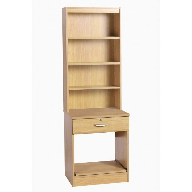 Whites Compton Printer/Scanner Desk Drawer Unit with OSD Hutch