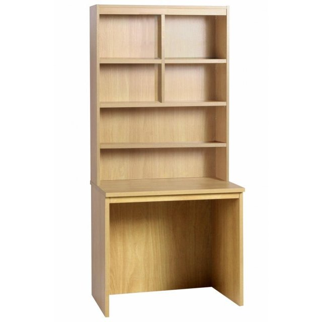 Whites Compton Medium Desk 850mm Wide with OSF Hutch