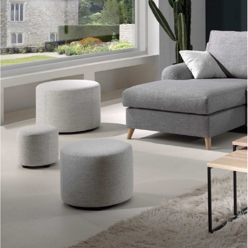 Softnord Troy 3 in 1 Nesting Pouffe