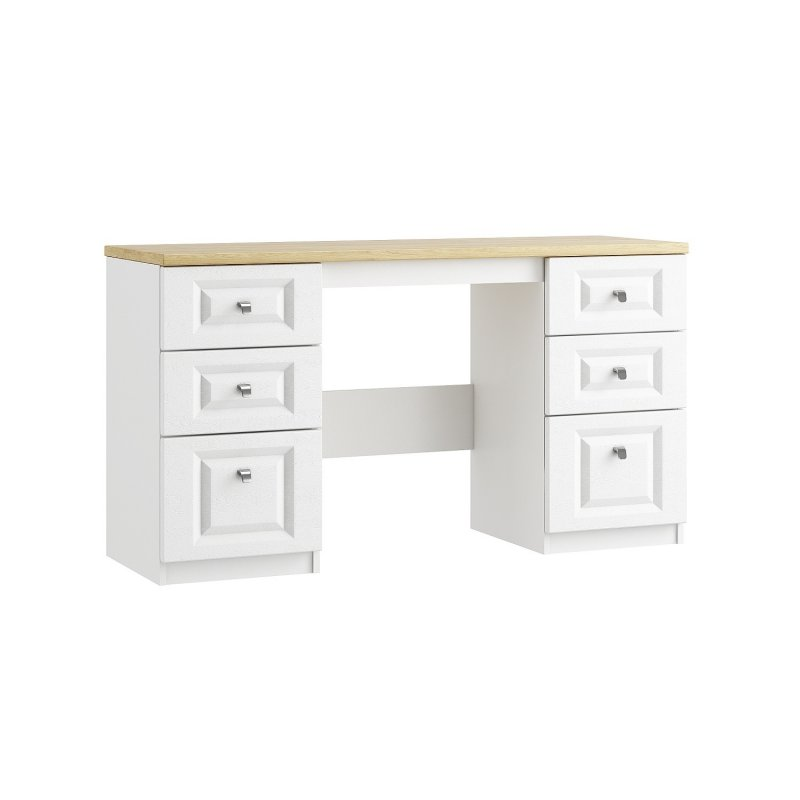 Maysons Sorrento Double Pedestal Dressing Table