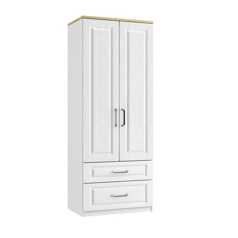 Maysons Sorrento Double Tall 2 Drawer Wardrobe