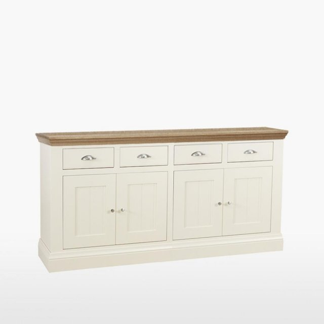TCH Furniture Coelo Large Sideboard with 4 Drawers / 4 Doors