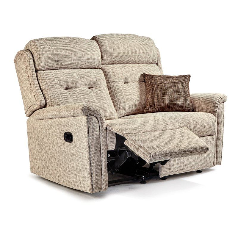 Sherborne Upholstery Sherborne Roma Reclining 2 Seater Sofa (fabric)