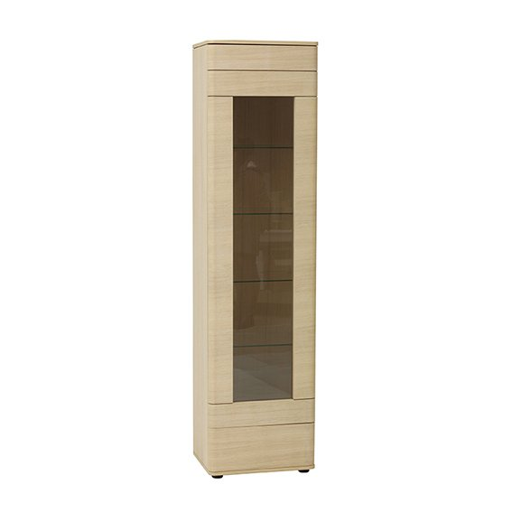 TCH Furniture Leone Display Storage (with Right Hand Facing Glass Door)