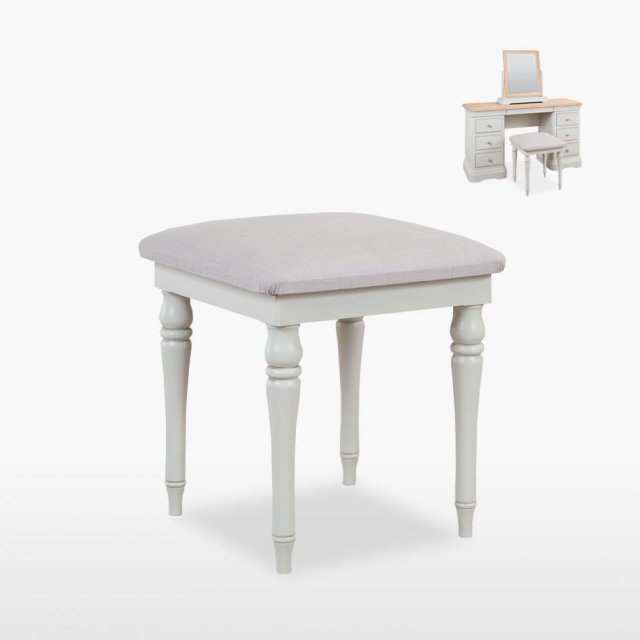 TCH Furniture Cromwell Bedroom Stool (in fabric)