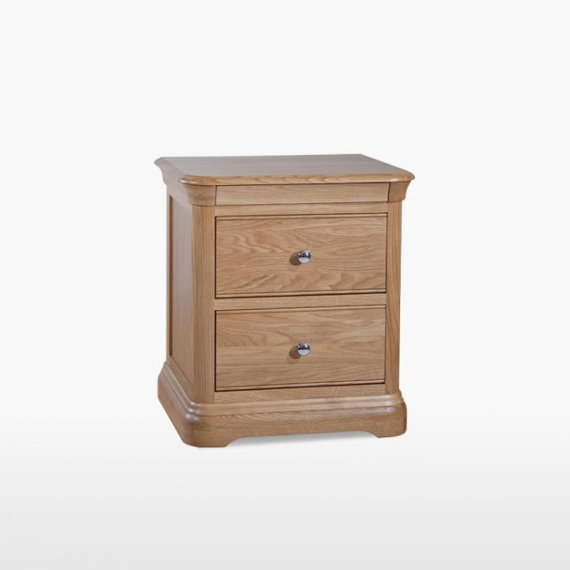 TCH Furniture Lamont Bedside Chest with 2 Drawers