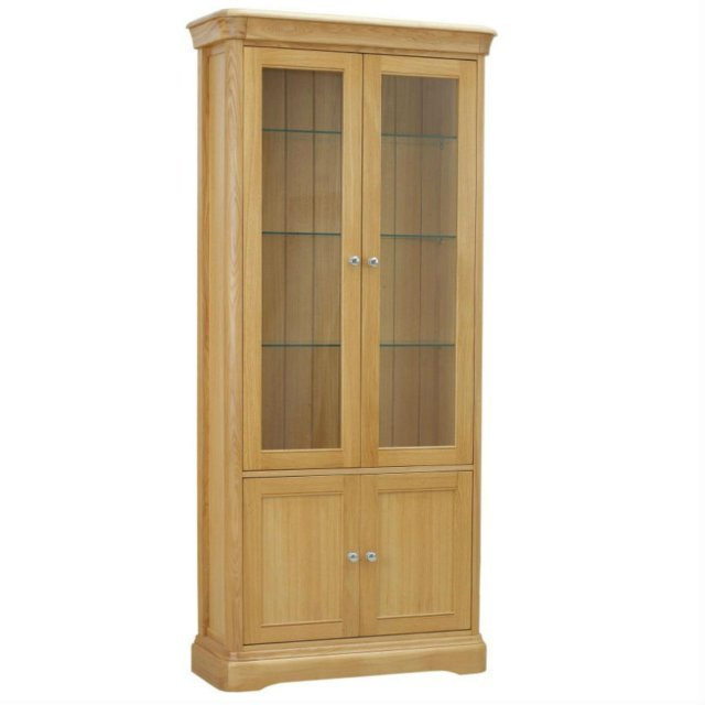 TCH Furniture Lamont Glazed Display Cabinet with 2 Doors