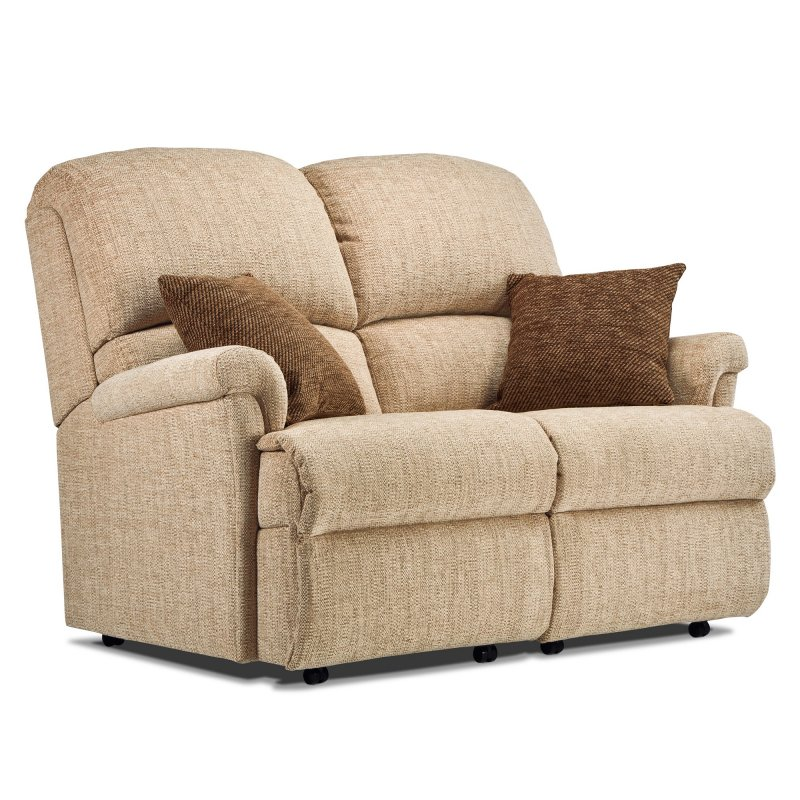 Sherborne Upholstery Sherborne Nevada Fixed 2 Seater Sofa (fabric)